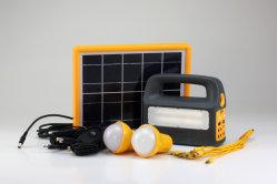 5W/5V 휴대용 태양열 에너지 시스템/2PC 또는 3PC LED 전구/키트 솔라 시골 및 도시 지역의 가정에게 LED 가정용 조명 제공 비공식 결산