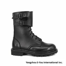 Em pele genuína de alta qualidade sapatos de homem exército de homens Boot
