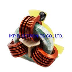 Toroidal Ferrite Core Storage Output 3상 Power 초크(플랫 와이어 수직 권선