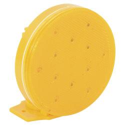 Témoin de clignotant de fusées éclairantes de la sécurité du trafic routier LED d'urgence Lumière stroboscopique avec base magnétique et de la Marine du véhicule (jaune) 5 pile AA