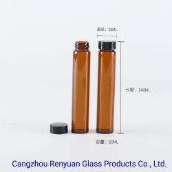 Оптовая торговля оранжевый цвет 3 мл 5 мл мини эфирное масло стекло ролик расширительного бачка