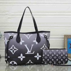 2 ピースセットショルダーバッグデザイナーファッションショッピングトートバッグハイ 上質のレザーレディウィメンズバッグ