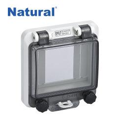 ABS plástico IP67 Capô janela transparente de protecção