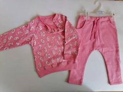 El 80% algodón 20% poliéster Forro Polar tejido desgaste del deporte bebé bebé fabricante de prendas de vestir