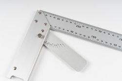 """10"""" 250mm multi- Fin de ángulo ajustable de aluminio Regla cuadrada"""