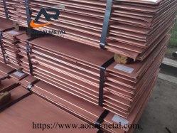 河北省からの一等級の99.9%の電気分解の銅の陰極、