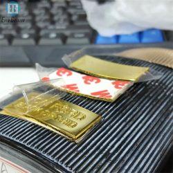 香水のロゴのブランドのカスタムステッカーの金属はびんおよび荷箱のための香水の金属のラベルを分類する