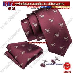 Cravate en soie Cravate Cravate Polyester personnalisé de gros de l'école Tie Étudiant Agent Bow Tie (B8149)