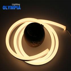 Branco puro5050 SMD PI68 LED impermeável de neon de mangueira flexível