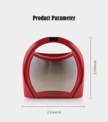 Küchengeräte Abnehmbare Platte Mini Multifunktions-Sandwichmaker Waffelmaschine CE RoHS Kc