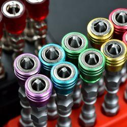 Destornillador magnético única cabeza hexagonal antideslizamiento S2 FASE 2 destornillador eléctrico para herramientas eléctricas