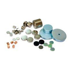モーター、発電機、エレベーター、センサー、分離器、MRI、VCM、DVDの可動装置、電話、プリンターのためのZnのコーティングが付いているN35強いディスクNdFeBの常置ネオジムか磁石