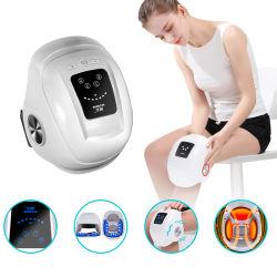 2021 특허 미니 공기 압력 조인트 통증 건강 관리 마사지 가열 진동 기능이 있는 무선 무릎 마사지기 제품