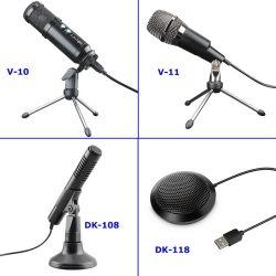 Computer-Spiel USB-Kondensator-Mikrofon