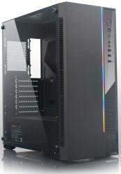 Novo design do modelo OEM caso do PC do computador com tira RGB