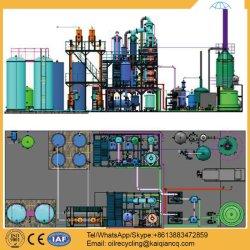 Re-Raffinierung verwendetes Motoröl zur Qualitäts-Unterseiten-Raffinerie