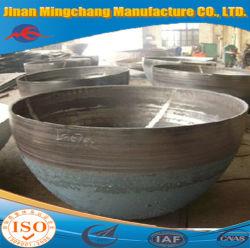 Produzione della testa emisferica dei piccoli materiali di titanio