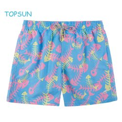 Custom à séchage rapide 100 % polyester colorées Beach pantalons courts homme Sport de plein air nager Shorts