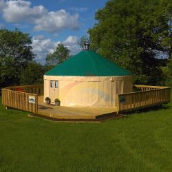 Camping baratos Yurt home for sale