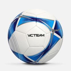 Tamanho personalizado 4 5 Máquina de PU costurado bola de futebol