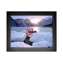 12.1 pollici hanno veduto il video dello schermo di tocco per POS/Game con la cassa del metallo del blocco per grafici aperto