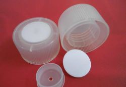 Ouvrir le bouchon en plastique produit cosmétique Bouchon de vase de moulage par injection plastique