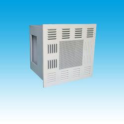 Filtre HEPA Air pour salle blanche Plenum boîte avec la plaque de diffuseur lisse