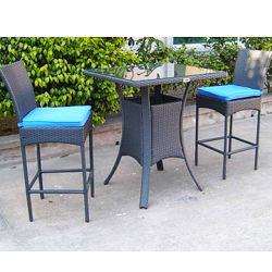 Tavolo da pranzo in metallo canna resistente ai graffi per mobili da ristorante Sedia da giardino esterna (BF-1008)