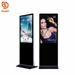 Pantalla LCD de pantalla Publicidad Android WiFi Hotspot 4G Modem para publicidad Reproductor de 43pulgadas Ad Autobus Alquiler de levantar la pantalla de publicidad Digital Signage Reproductor Totem