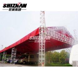 При перемещении Rida-Tent фары опорных стоек гибкая подставка для освещения