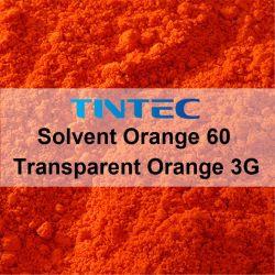 용해력이 있는 주황색 60 형광성 안료 주황색 3G