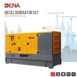 Silent 4 цикл электрического питания дизельного двигателя Cummins генератор с 25 Ква-1500ква на базе Ce утверждения