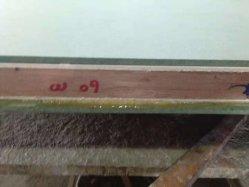 Pegamento Non-Toxic extruido XPS junta a puerta resistente al fuego de madera mármol Blinder para placa de acero en forma de panal de aluminio