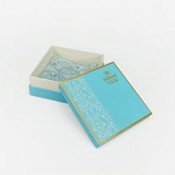 ورق الطي المطوي للتغليف القابل للطي ذو الصندوق الأزرق المخصص للإقفال المغناطيسي صندوق هدايا للملبوسات/التجميل/الفنون والحرف/الأحذية/الشمعة/الوردية/الهدايا