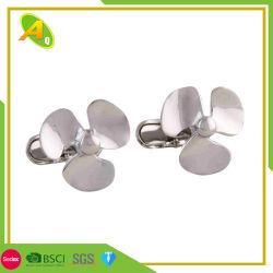 Les hommes concepteur en acier inoxydable ronde liens Brassard doux de laiton (038)