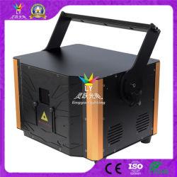 Fase DMX DJ laser a cores RGB 4W