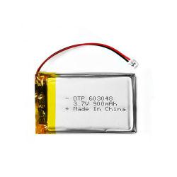 RCモデルのための3.7Vリチウムポリマー電池603048 900mAh