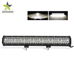 قضيب ضوء LED رباعي الدفع رباعي الدفع رباعي الدفع بحجم 22 بوصة مقاوم للمياه