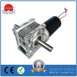80zyt165-2438-VR040-63B14 do motor de c.c. sem escovas do motor de engrenagem do motor escovado de Simulador de Movimento Motor PMDC 80mm 24V 3000rpm 400W