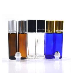 Пустой глаз духи эфирного масла расширительного бачка 4 мл 6 мл 8 мл 10мл черный Удалите оранжевый зеленый голубой рулона на стеклянную бутылку с шариковый