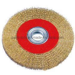 Disque de ponçage des documents papier de verre de la brosse de la Coupe du pinceau circulaire