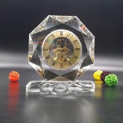 최고 수준의 Crystal Clock 테이블 Clock 사용자 정의 고품질 시계 도매
