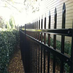細工した鉄の庭の Picket 装飾的な鉄 Palisade の鋼鉄粉のコーティング セキュリティパイプパーティションスクエアチューブ鉄フェンスパネル