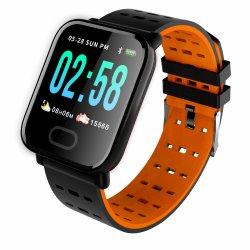 Ta6 de Slimme Klok van Smartwatch van de Armband van de Bloeddruk van de Monitor van het Tarief van het Hart van de Vrouwen van de Mannen van het Horloge Waterdichte Slimme voor Ios Androïde Telefoons