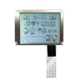 20 Pin 3.8インチの一般目的IC Sid13700の320X240/320*240の灰色か青のフィルムLCDの表示のモジュール