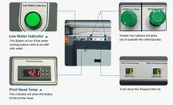 Les systèmes de couleur Direct Jet d'encre à plat UV Apex LED UV de prix de l'imprimante