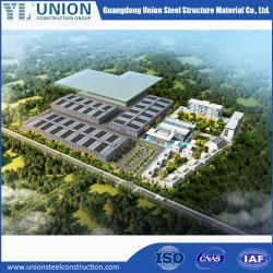 Vorfabriziertes industrielles Bereich-Gebrauch-Stahlmaterial für Stahlgebäude-Stahlwerkstatt-Stahllager-Zelle-Rahmen