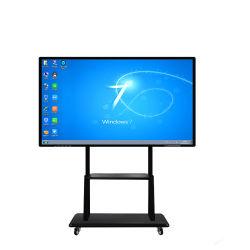 """98"""" 3840*2160 4K Whiteboad inteligente interactiva de ecrã táctil para o Ensino da Reunião"""