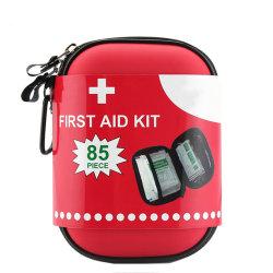 CE ISO Medical Travel 85PCS مجموعة الطوارئ تخييم EVA أولاً حقيبة عدّة للمساعدة في الخارج