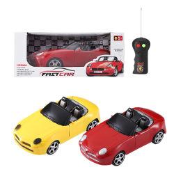 1:26 라디오 리모트 컨트롤 전기 리모컨 자동차 2 채널 어린이 플라스틱 교육 장난감